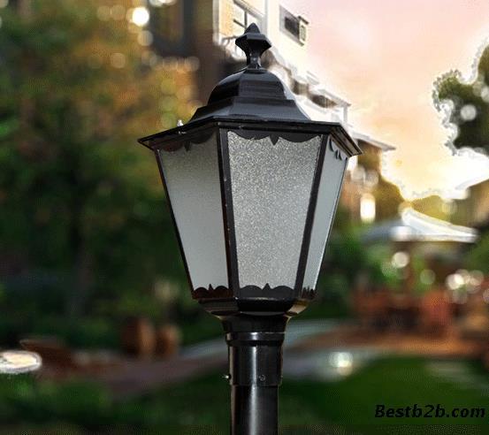 扬州弘旭供应欧式别墅小区学校庭院灯
