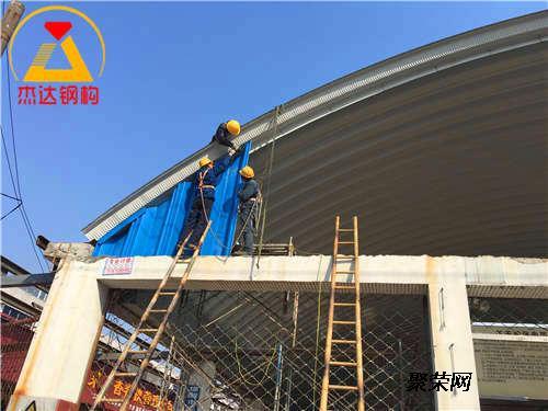临汾钢结构拱形屋顶养殖场质量可靠