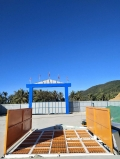 供應華杰牌QLH-4000溫州碼頭洗車通道