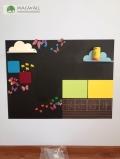 磁善家无钉安装轻松上墙磁性涂鸦黑板墙