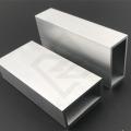 鋁方管定制木紋轉印鋁方通現貨一上海至律鋁業