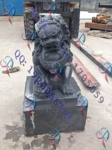 a立体石狮子雕刻机四轴三维立体佛像石材石狮子雕刻