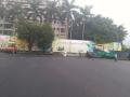 深圳工業園透水混凝土改造現場