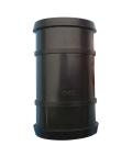 厂家直销PE软带管件 大田大棚微喷黑色输水软带直通