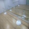 山东厂家直销舞蹈室舞蹈练习把杆 舞蹈把杆安装 舞蹈室压腿把杆