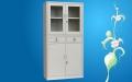 钢制办公A4文件柜铁皮柜档案资料凭证储物密码带锁小矮柜更衣柜