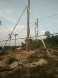 铝合金立杆机,机动绞磨,三脚架立杆机电线杆10米
