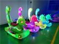 儿童广场游乐设备新款发光碰碰车