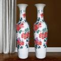 景德镇陶瓷花瓶摆件 客厅大号落地瓷瓶插花