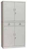 文件柜矮柜办公资料档案铁皮柜阳台储物柜抽屉柜工具柜带锁小柜子