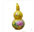 定做景德镇陶瓷酒瓶厂 一斤陶瓷葫芦瓶价格 酒坛批发厂家