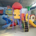 山东生产厂家直销小区组合滑梯 幼儿园组合滑梯安装 商超组合滑