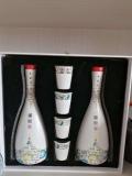 锡林郭勒年陶瓷酒瓶1斤厂家供应 蒙古陶瓷酒具厂家直销