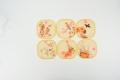 宁波热销上色好彩印机儿童硅胶餐垫uv数码打印机