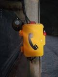 隧道工程专用防潮扩音电话机,IP66防水防潮电话机