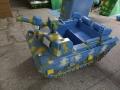 厂家直销电动游乐设备仿真坦克