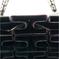 60*80镀锌方形凹槽管生产厂家