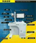 激光打字机金属激光打标机光纤激光器 10-20W