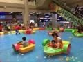 儿童手摇船水池夏季捞鱼池充气水池