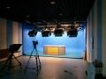 虚拟演播室蓝箱灯光装修 实景小型演播厅搭建方案