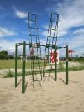 军用攀爬架尺寸 部队爬绳杆批发定做厂家