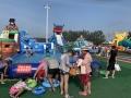 大型户外儿童水上乐园多功能支架水池
