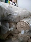 库存夹丝绵保暖面料、三层棉 全棉针织批发现货