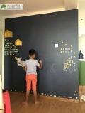 Magwall创意无尘擦写环保儿童双层磁性彩色墙