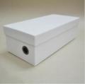 供应 现货凉鞋盒灰板硬质纸盒凉鞋包装盒