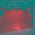 实景演播室布置 校园超清演播厅蓝箱灯光装修方案