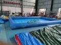 厂家直销充气方形水池 充气游泳池