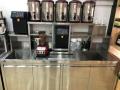 深圳奶茶店全套设备商用工作台保鲜柜开水器制冰机冷藏展示柜