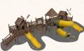 室内外游乐场设备海盗船不锈钢滑梯价格