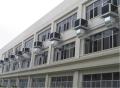 皮带厂厂房降温设备车间通风散热系统