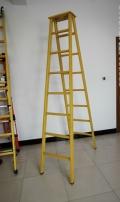 3米绝缘人字梯定制 玻璃钢绝缘人字梯厂家供应