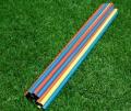 河北体育器材厂家软式体育器材现货彩色标志杆图片