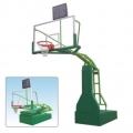陕西室内外电动液压篮球架