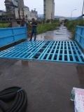四川南充绿色料场车辆自动洗车台