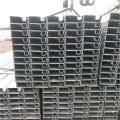 60*60镀锌方形凹槽管生产厂家