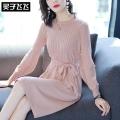 低价清仓品牌折扣潮流时尚女式连衣裙女装毛衣供应
