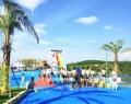 周口游泳池防滑涂料水乐园彩色漆 海滩公园池底涂料水乐园彩色漆