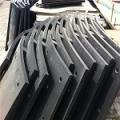 自贡供应 陶瓷衬板 耐磨破碎机衬板 煤磨衬板