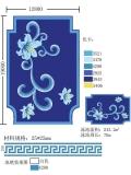 蓝色系陶瓷泳池拼花马赛克生产厂家
