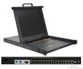 kvm切换器8口 USB机架式17英寸热键服务器专用