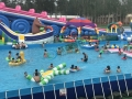 水滑梯充气水池水上游艺设施