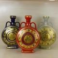 厂家直销五斤装陶瓷酒坛 招财进宝5斤装扁瓶价格