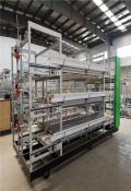 全自动肉鸡笼养设备贺富畜牧养殖新型肉鸡笼养设备价格