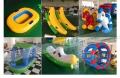 滑梯定制儿童充气跳床水上浮具