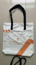 供应米色帆布手提袋 西安广告袋子印字时尚礼品袋