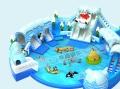 冰雪世界充气泳池儿童大型水上乐园